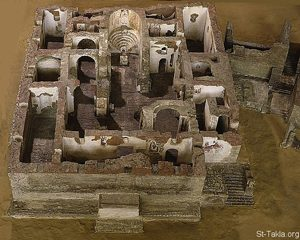 Faras Cathedral in northern Sudan (700s AD)