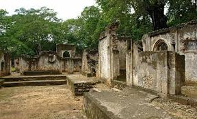 Remains of the Great Mosque at Gedi, Kenya