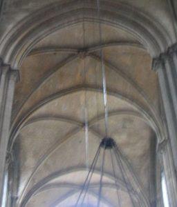 Four-part groin vault (Rouen, 1200s AD)