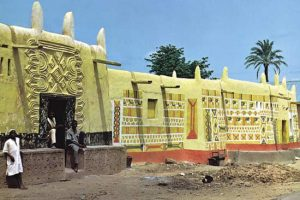 Hausa houses in Nigeria
