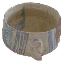 Islamic pottery from Carthage (Byrsa Museum, modern Tunisia), ca. 1100 AD