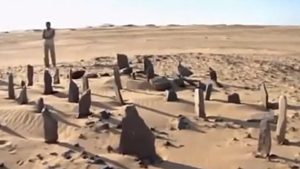 Standing stones at Nabta Playa (modern Sudan), ca. 6000 BC