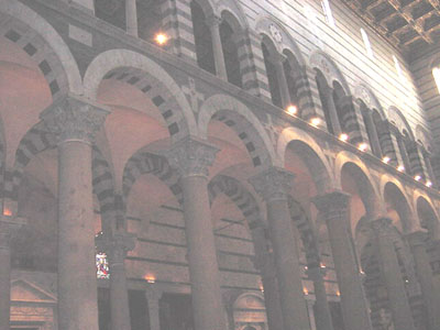 arches with another row of arches behind them
