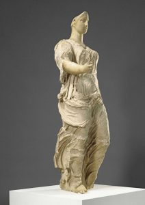 Venus of Morgantina, from Sicly, with limestone robes and imported marble head and arms