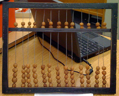 How to make an abacus ancient china project for Abacus cuisine of china
