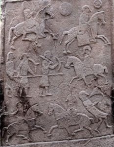 Pictish battle (Aberlemno, Scotland, ca. 700 AD)