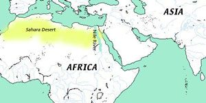 Egyptian geography and environment ancient Egypts climate and