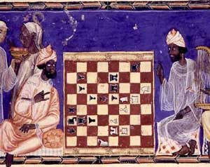 Playing chess - Medieval Islam project - Quatr us Study Guides