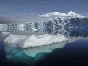 Sheldon glacier in Antartica (thanks NASA)