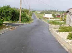 Asphalt pavement made with basalt