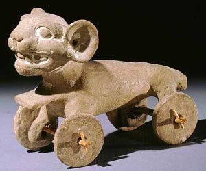 Aztec pull toy, ca. 1500 AD