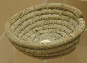 Straw basket from New Kingdom Egypt