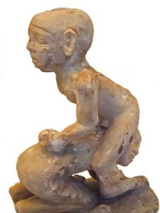 Ancient Egyptian statuette of boys wrestling: Ancient Egyptian games
