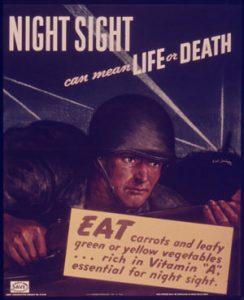 British WWII propaganda poster