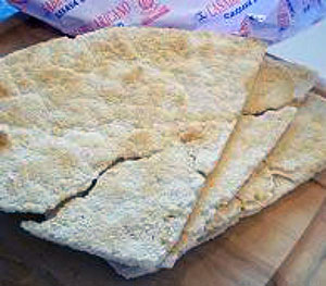 Yuca bread or cassava bread