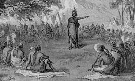 Cherokee council meeting