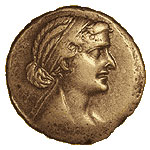 Cleopatra VII (see how much she looks like Ptolemy?)