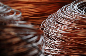 Coil of copper wire