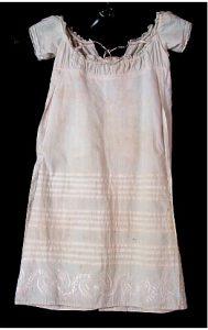 A cotton baby dress