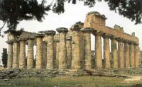 Temple of Zeus at Cyrene (North Africa)