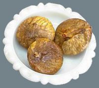 A bowl of dried figs