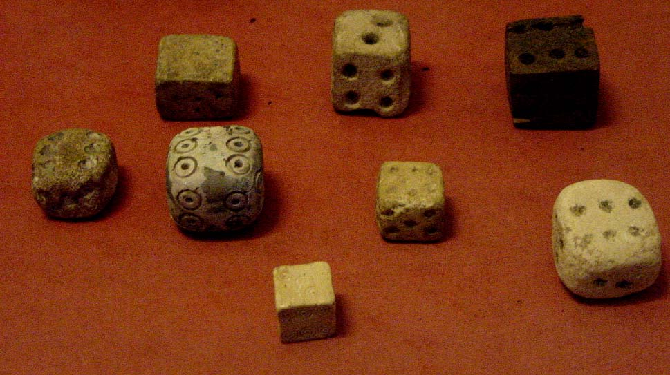 Early dice from ancient Egypt