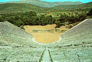 Greek theater at Epidauros (200 BC)