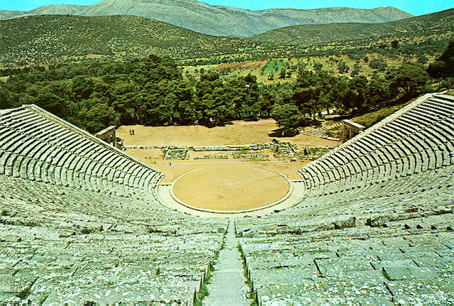 Greek theater at Epidauros (200 BC)