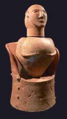 Etruscan cremation urn (ca. 600 BC)