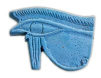 Good luck charm of the eye of the god Horus (Old Kingdom, ca. 2000 BC)