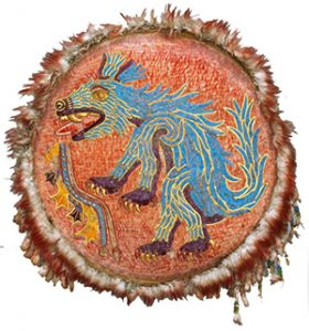 Aztec feather shield (ca. 1520 AD), now in Vienna