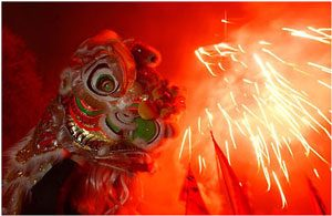 Fireworks and a Chinese dragon: History of gunpowder