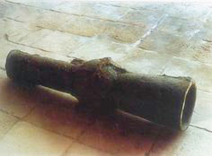 Chinese bronze cannon
