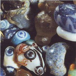 Glass beads (Novo Mesto, Slovakia, ca. 500 BC)