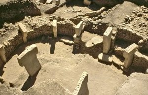 Building at Gobekli Tepe (ca. 9000 BC)