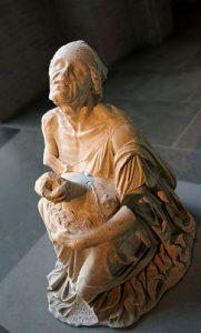 Myron's Greek woman drinking wine