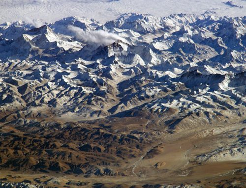 Where are the Himalaya Mountains? India