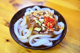 Chinese food - rice noodles