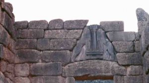 The Lion Gate, Mycenae (ca. 1500 BC)