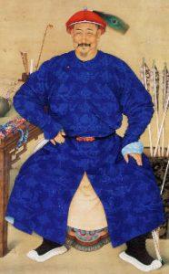 A Manchu official