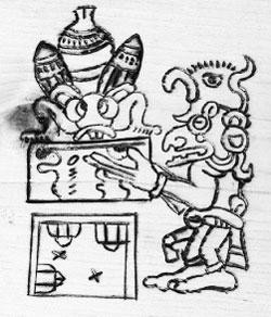 Maya beehive