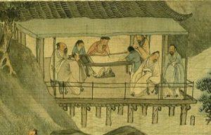 A man writing (Ming Dynasty China)