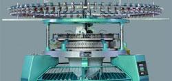 modern knitting machine made of steel: knitting history