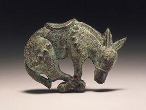 bronze mule