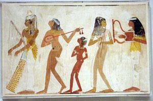 Egyptian musicians