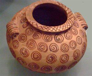 Naqada II clay jar (Egypt, 3500 BC)Metropolitan Museum, NYC