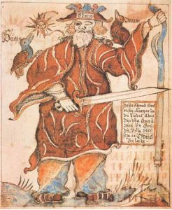 Odin in the Late Middle Ages in Denmark (Royal Library, Copenhagen)
