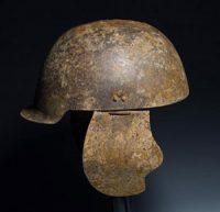 Ostrogothic helmet imitating Roman helmets (ca. 400 AD)