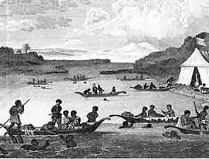 African-American pearl divers (Venezuela, ca. 1600 AD)