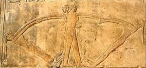 Ancient Egyptian painting of girls dancing holding hands in a circle: Ancient Egyptian games